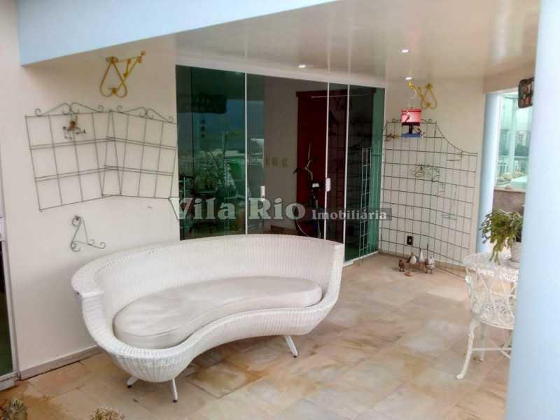 AREA DO TERRAÇO COBERTO 1 - Cobertura 2 quartos à venda Barra da Tijuca, Rio de Janeiro - R$ 2.000.000 - VCO20012 - 21