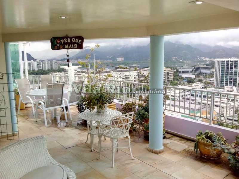 AREA DO TERRAÇO COBERTO 2 - Cobertura 2 quartos à venda Barra da Tijuca, Rio de Janeiro - R$ 2.000.000 - VCO20012 - 22