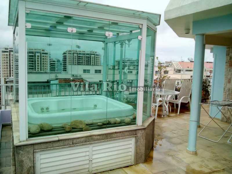 PISCINA JACUZZI - Cobertura 2 quartos à venda Barra da Tijuca, Rio de Janeiro - R$ 2.000.000 - VCO20012 - 24