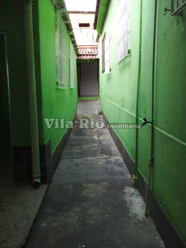 LATERAL 1 - Casa 2 quartos para alugar Cordovil, Rio de Janeiro - R$ 1.300 - VCA20076 - 16