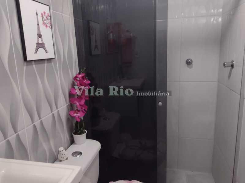 BANHEIRO 2 - Apartamento 2 quartos à venda Coelho Neto, Rio de Janeiro - R$ 175.000 - VAP20829 - 14