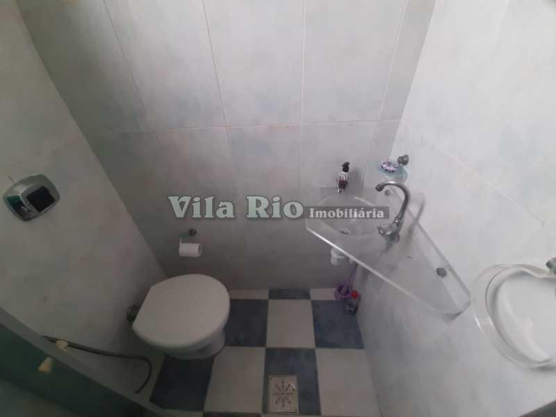 BANHEIRO SOCIAL 1 - Apartamento 2 quartos à venda Vila da Penha, Rio de Janeiro - R$ 320.000 - VAP20840 - 7