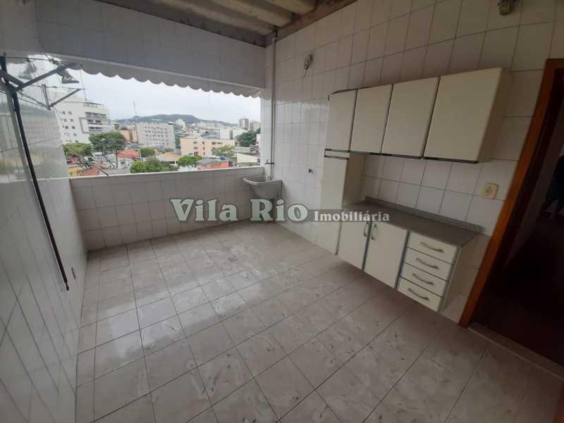 AREA DE SERVIÇO 1 - Apartamento 2 quartos à venda Vila da Penha, Rio de Janeiro - R$ 320.000 - VAP20840 - 16