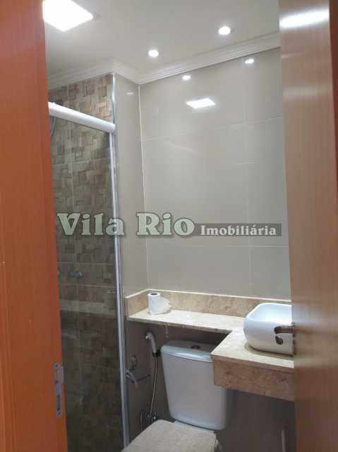 BANHEIRO 1. - Apartamento 2 quartos para alugar Parada de Lucas, Rio de Janeiro - R$ 1.000 - VAP20842 - 8