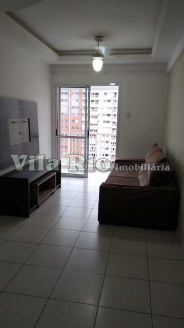 SALA 1. - Apartamento 2 quartos à venda Vila da Penha, Rio de Janeiro - R$ 410.000 - VA21142 - 3