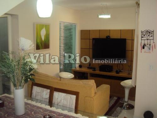 SALA - Casa 2 quartos à venda Vila da Penha, Rio de Janeiro - R$ 395.000 - VR20272 - 1