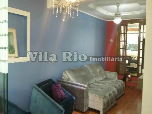 SALA - Casa 2 quartos à venda Braz de Pina, Rio de Janeiro - R$ 500.000 - VR20279 - 1