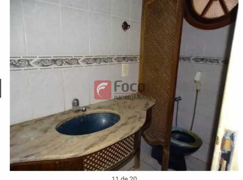 Lavabo - Casa à venda Rua Roquete Pinto,Urca, Rio de Janeiro - R$ 3.500.000 - JBCA80005 - 18