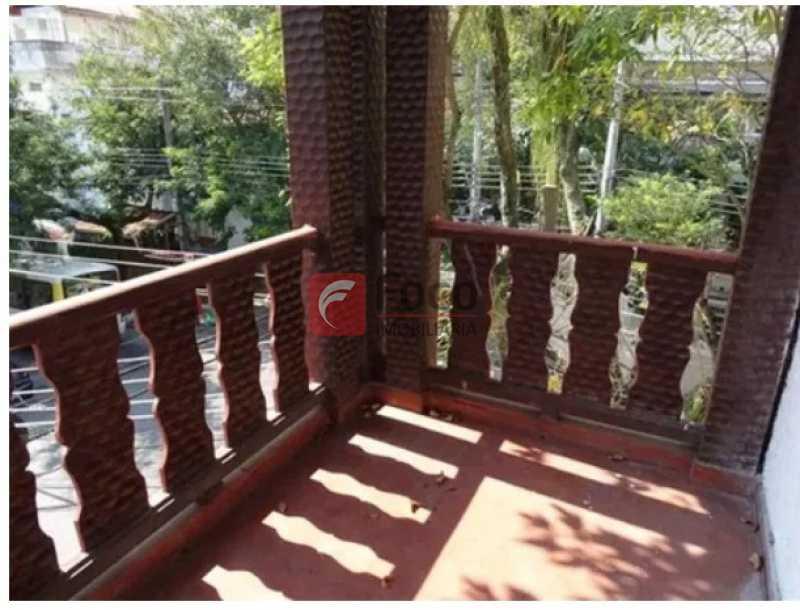 Sacada quarto 5 - Casa à venda Rua Roquete Pinto,Urca, Rio de Janeiro - R$ 3.500.000 - JBCA80005 - 1