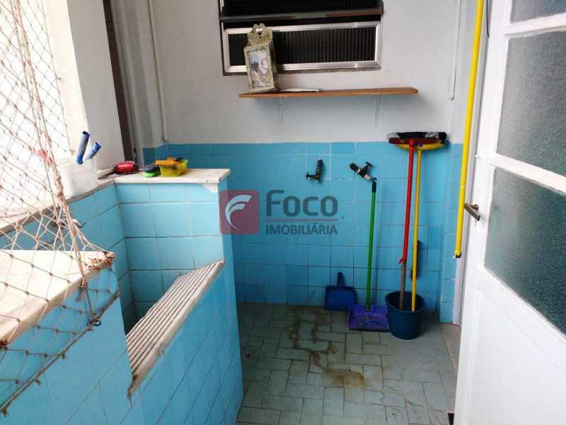 ÁREA SERVIÇO - Apartamento à venda Rua Soares Cabral,Laranjeiras, Rio de Janeiro - R$ 950.000 - FLAP31918 - 18