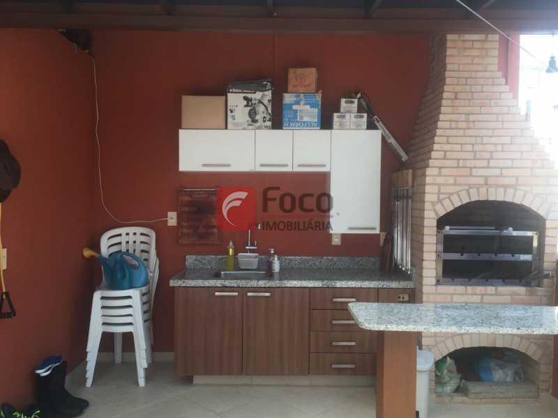 Espaço Gourmet - Cobertura à venda Rua Oliveira Rocha,Jardim Botânico, Rio de Janeiro - R$ 3.870.000 - JBCO30113 - 9