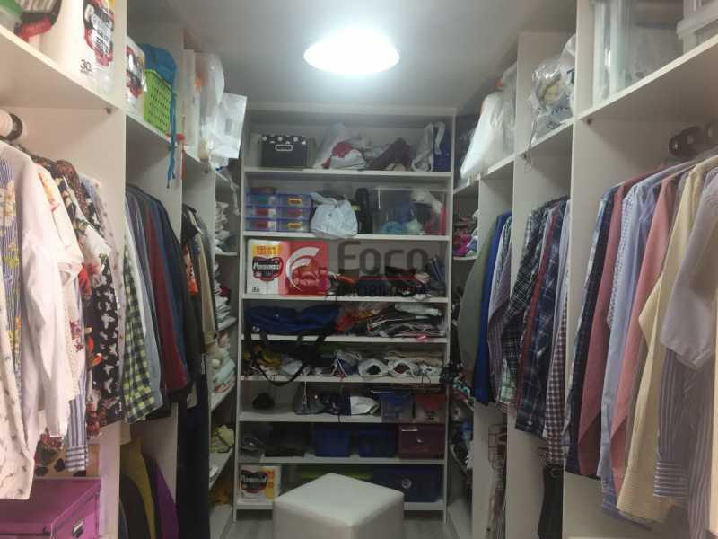 Closet - Cobertura à venda Rua Oliveira Rocha,Jardim Botânico, Rio de Janeiro - R$ 3.870.000 - JBCO30113 - 13