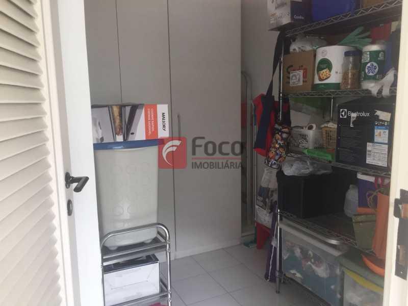 Dependência - Cobertura à venda Rua Oliveira Rocha,Jardim Botânico, Rio de Janeiro - R$ 3.870.000 - JBCO30113 - 22