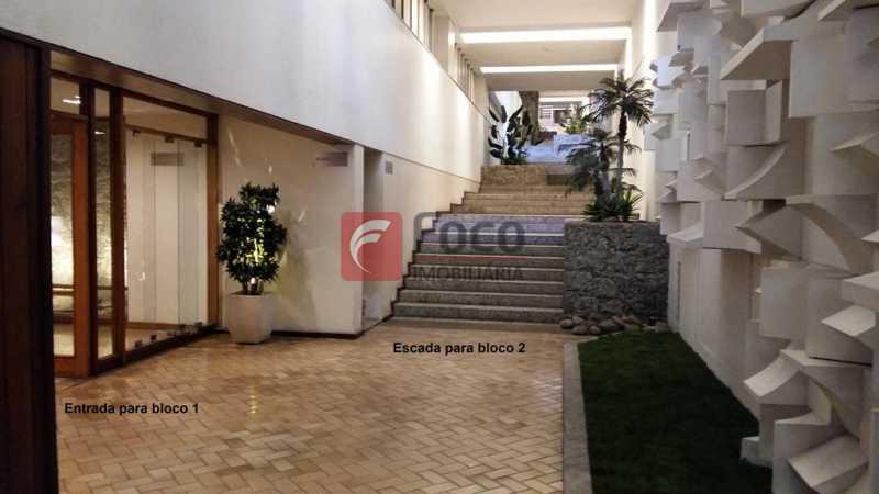 ACESSO AOS BLOCOS - Apartamento à venda Rua do Humaitá,Humaitá, Rio de Janeiro - R$ 995.000 - FLAP22104 - 19