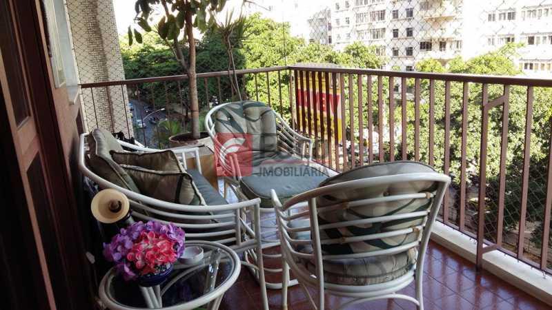 VARANDA - Apartamento à venda Rua do Humaitá,Humaitá, Rio de Janeiro - R$ 995.000 - FLAP22104 - 5