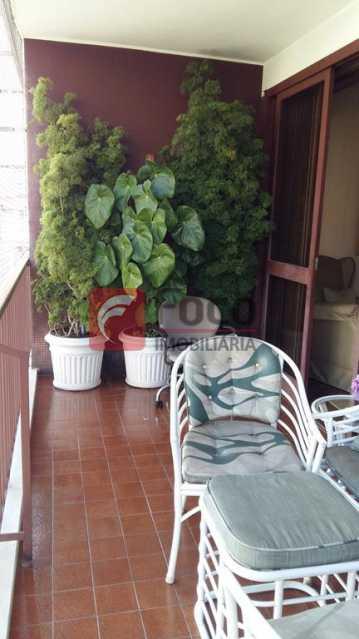 VARANDA  - Apartamento à venda Rua do Humaitá,Humaitá, Rio de Janeiro - R$ 995.000 - FLAP22104 - 4