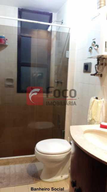 BANHEIRO SOCIAL - Apartamento à venda Rua do Humaitá,Humaitá, Rio de Janeiro - R$ 995.000 - FLAP22104 - 13