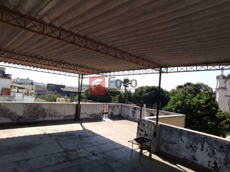 9 - Casa de Vila à venda Rua Santa Pastora,São Cristóvão, Rio de Janeiro - R$ 850.000 - JBCV50002 - 14