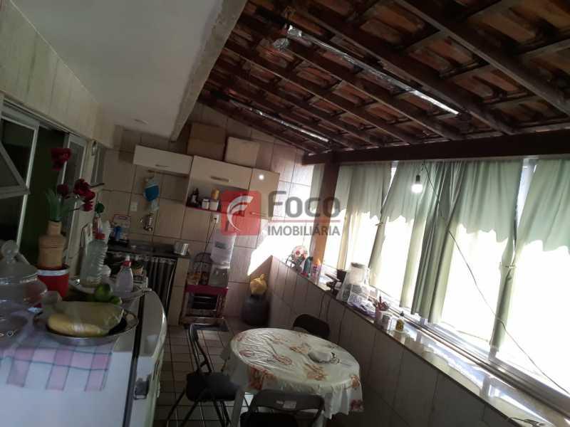 26 - Casa de Vila à venda Rua Santa Pastora,São Cristóvão, Rio de Janeiro - R$ 850.000 - JBCV50002 - 20