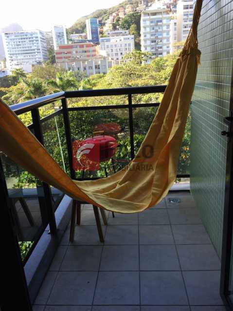 Varanda 2 - Flat à venda Rua Prudente de Morais,Ipanema, Rio de Janeiro - R$ 950.000 - JBFL10027 - 14