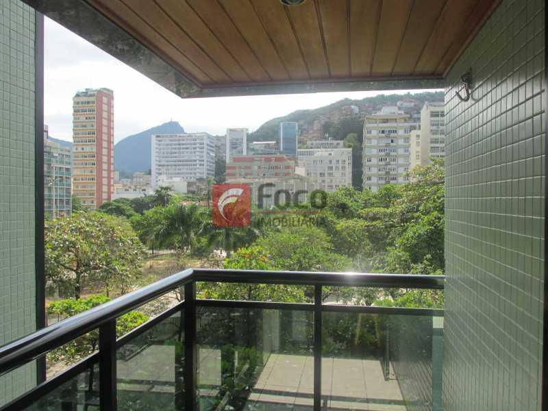Varanda 4 - Flat à venda Rua Prudente de Morais,Ipanema, Rio de Janeiro - R$ 950.000 - JBFL10027 - 3
