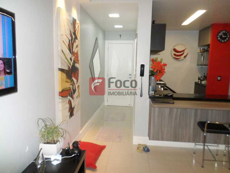 HALL ENTRADA - Apartamento à venda Rua Nascimento Silva,Ipanema, Rio de Janeiro - R$ 1.550.000 - FLAP31986 - 5