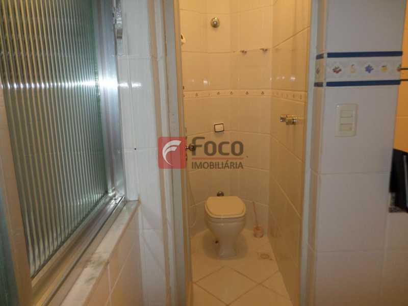 BANHEIRO EMPREGADA - Apartamento à venda Avenida Calógeras,Centro, Rio de Janeiro - R$ 650.000 - FLAP22169 - 17
