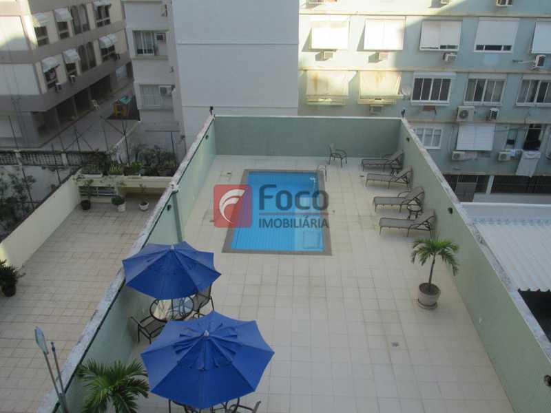 Vista da varanda - Flat à venda Rua Prudente de Morais,Ipanema, Rio de Janeiro - R$ 950.000 - JBFL10028 - 1