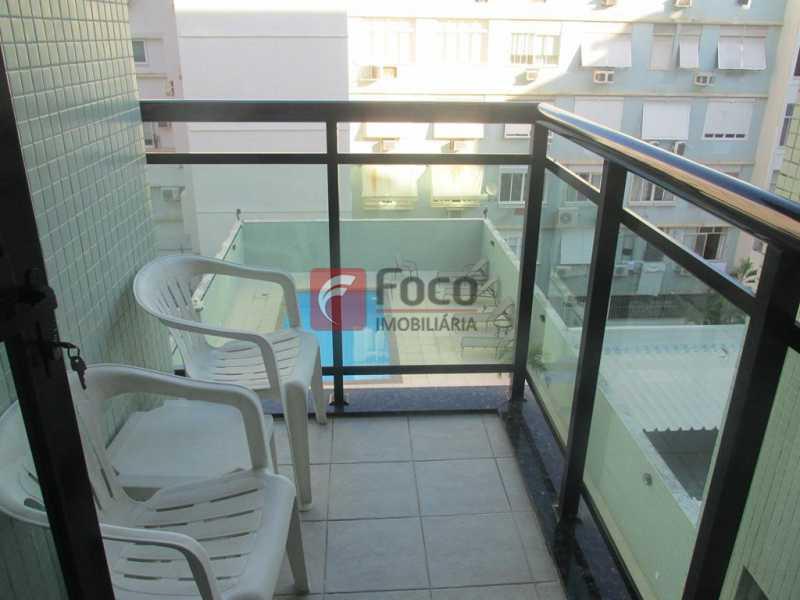 Varanda - Flat à venda Rua Prudente de Morais,Ipanema, Rio de Janeiro - R$ 950.000 - JBFL10028 - 4