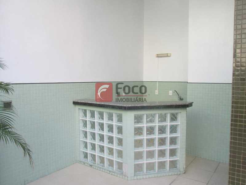 Área da piscina - Flat à venda Rua Prudente de Morais,Ipanema, Rio de Janeiro - R$ 950.000 - JBFL10028 - 26