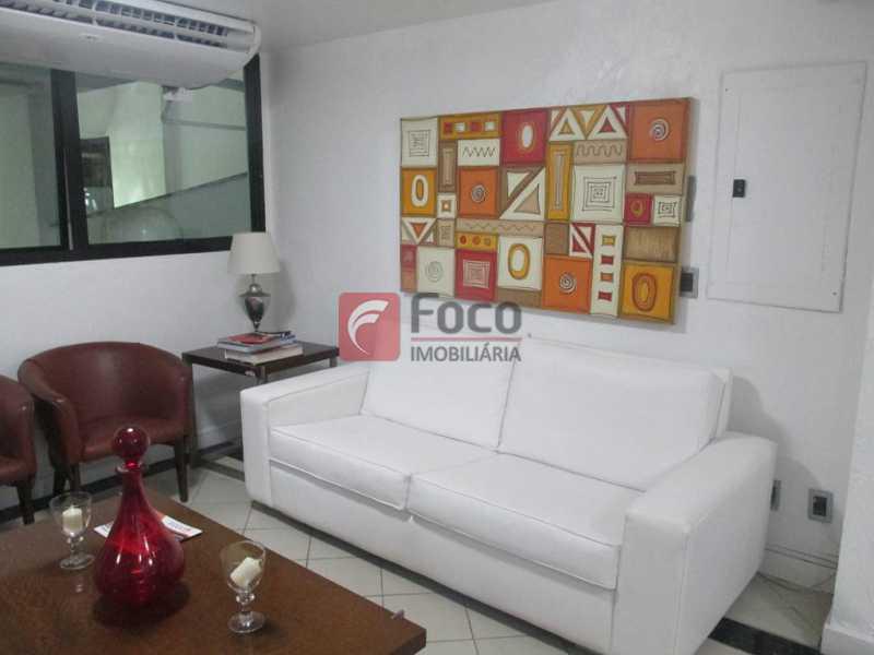 Recepção - Flat à venda Rua Prudente de Morais,Ipanema, Rio de Janeiro - R$ 950.000 - JBFL10028 - 23