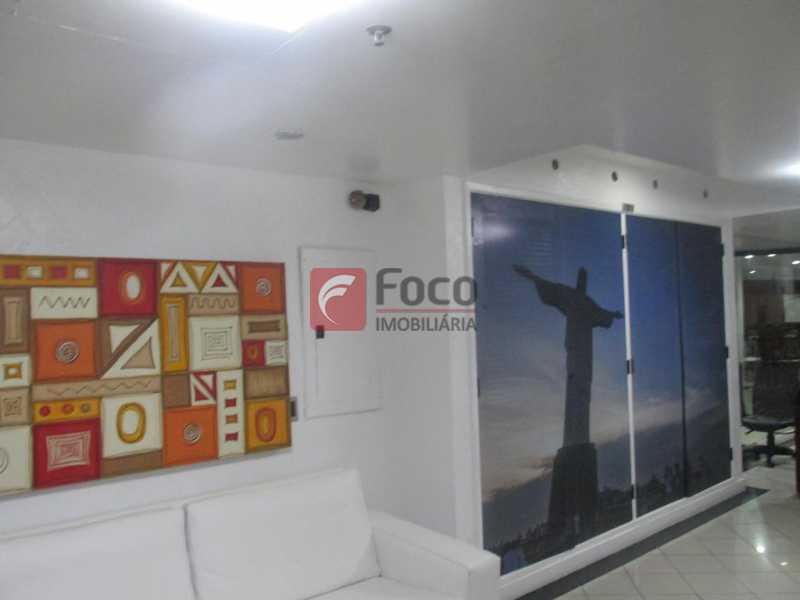 Recepção - Flat à venda Rua Prudente de Morais,Ipanema, Rio de Janeiro - R$ 950.000 - JBFL10028 - 31
