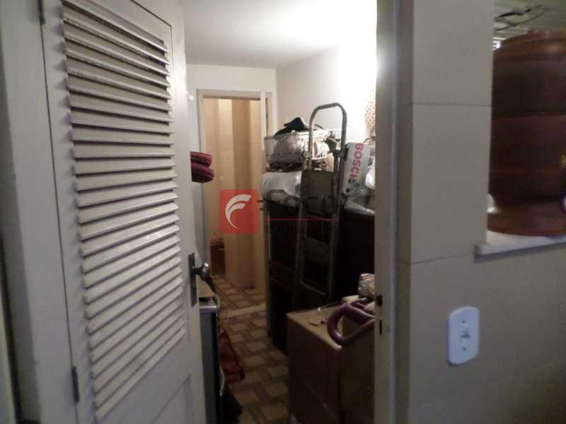 QUARTO EMPREGADA - Apartamento à venda Avenida Delfim Moreira,Leblon, Rio de Janeiro - R$ 3.700.000 - FLAP32043 - 24