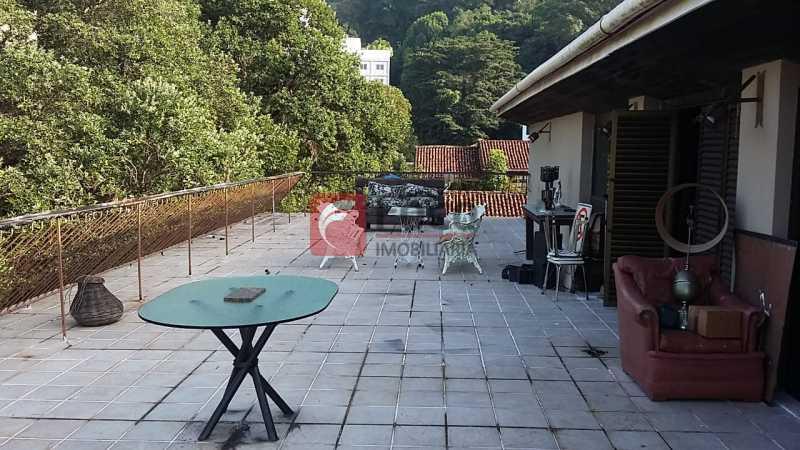 Terraço - Cobertura à venda Rua Oliveira Rocha,Jardim Botânico, Rio de Janeiro - R$ 4.200.000 - JBCO50010 - 1