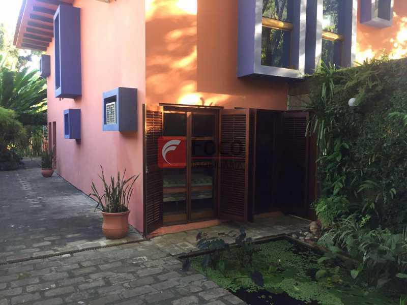1 - Casa à venda Rua Zara,Jardim Botânico, Rio de Janeiro - R$ 6.450.000 - JBCA60017 - 1