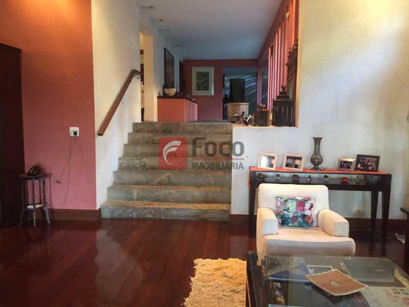 8 - Casa à venda Rua Zara,Jardim Botânico, Rio de Janeiro - R$ 6.450.000 - JBCA60017 - 9