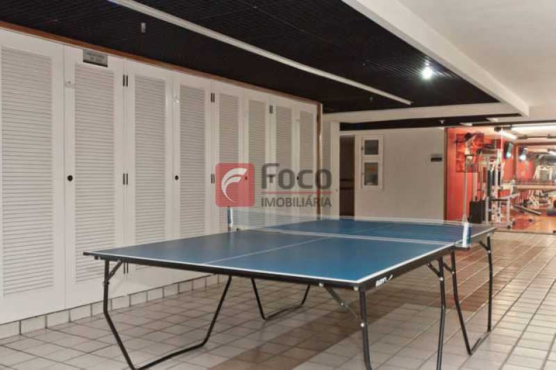 SALÃO JOGOS - Apartamento à venda Avenida Bartolomeu Mitre,Leblon, Rio de Janeiro - R$ 1.900.000 - FLAP22224 - 13