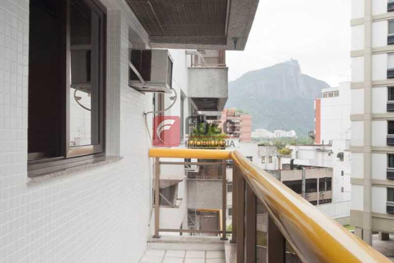VARANDA - Apartamento à venda Avenida Bartolomeu Mitre,Leblon, Rio de Janeiro - R$ 1.900.000 - FLAP22224 - 3