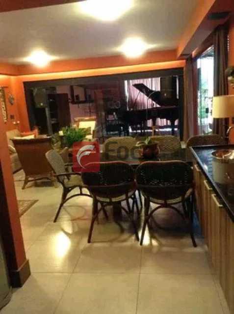 SALA JANTAR - Casa em Condomínio à venda Rua Stefan Zweig,Laranjeiras, Rio de Janeiro - R$ 4.700.000 - FLCN50006 - 6