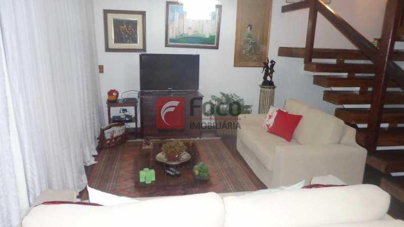 SALA DE TV - Casa à venda Rua Belisário Távora,Laranjeiras, Rio de Janeiro - R$ 2.400.000 - FLCA40072 - 3