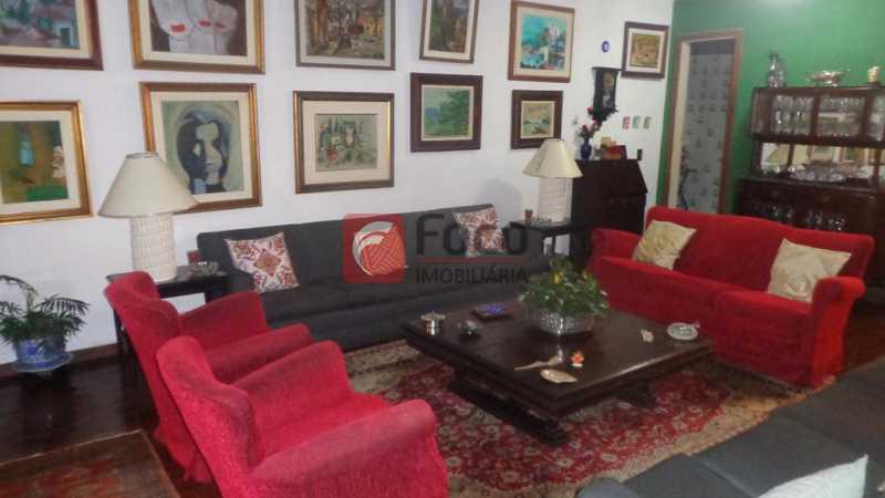 SALA DE ESTAR - Casa à venda Rua Belisário Távora,Laranjeiras, Rio de Janeiro - R$ 2.400.000 - FLCA40072 - 4
