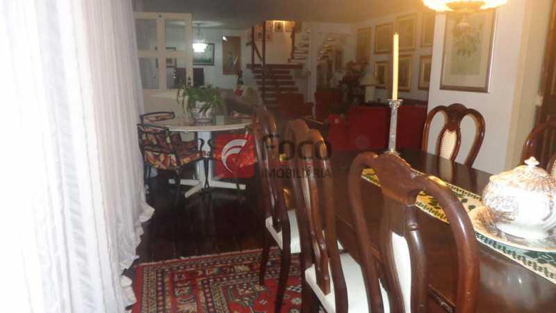 SALA DE JANTAR - Casa à venda Rua Belisário Távora,Laranjeiras, Rio de Janeiro - R$ 2.400.000 - FLCA40072 - 6