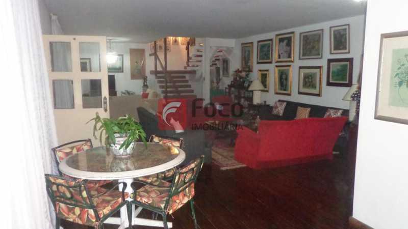 SALAS - Casa à venda Rua Belisário Távora,Laranjeiras, Rio de Janeiro - R$ 2.400.000 - FLCA40072 - 7