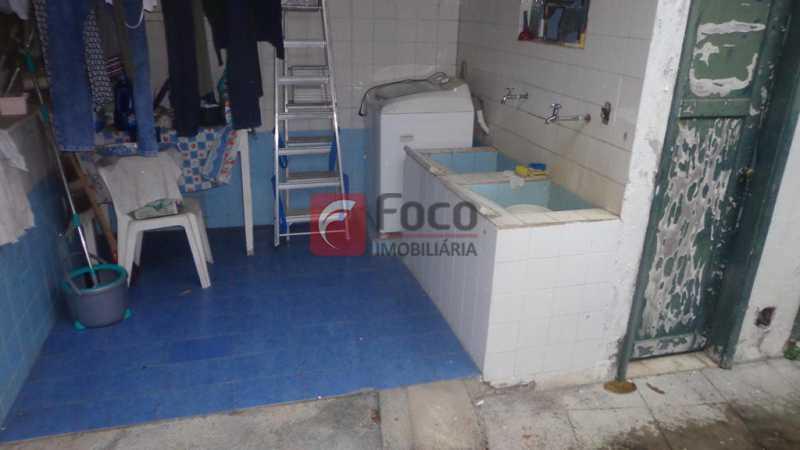 ÁREA DE SERVIÇO - Casa à venda Rua Belisário Távora,Laranjeiras, Rio de Janeiro - R$ 2.400.000 - FLCA40072 - 29