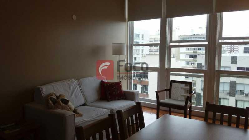 SALA - Apartamento à venda Rua Barão da Torre,Ipanema, Rio de Janeiro - R$ 1.190.000 - FLAP22233 - 1