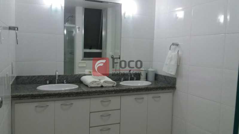 BANHEIRO SOCIAL - Apartamento à venda Rua Barão da Torre,Ipanema, Rio de Janeiro - R$ 1.190.000 - FLAP22233 - 16