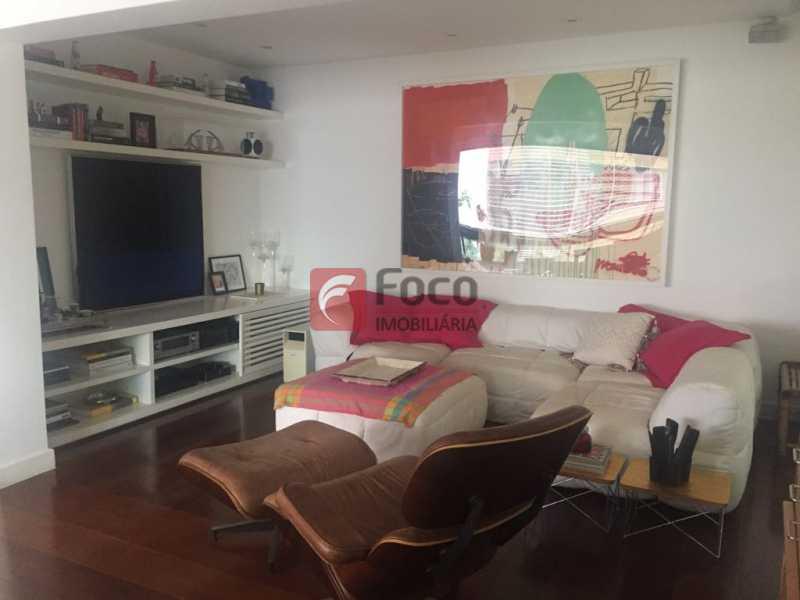 Sala tv - Apartamento Lagoa,Rio de Janeiro,RJ À Venda,3 Quartos,205m² - JBAP31022 - 4
