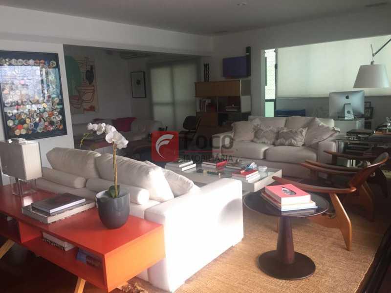 Sala Estar - Apartamento Lagoa,Rio de Janeiro,RJ À Venda,3 Quartos,205m² - JBAP31022 - 1
