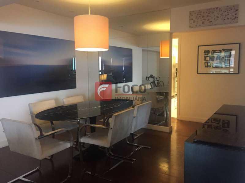 Sala Jantar - Apartamento Lagoa,Rio de Janeiro,RJ À Venda,3 Quartos,205m² - JBAP31022 - 5
