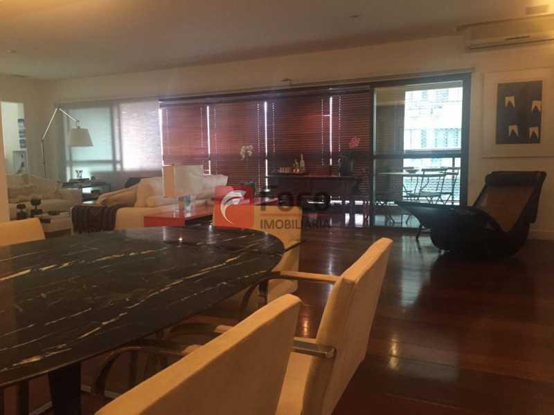 Sala Jantar - Apartamento Lagoa,Rio de Janeiro,RJ À Venda,3 Quartos,205m² - JBAP31022 - 6